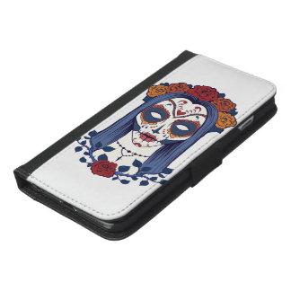 死者の女性日 iPhone 6/6S PLUS ウォレットケース