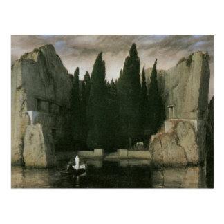 死者の島、1883年のアーノルドBocklin ポストカード