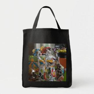 死者の日の再使用可能な食料雑貨の買い物袋 トートバッグ