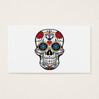 死頭部の花 名刺
