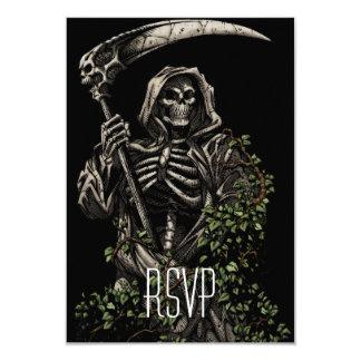 死-大がまを持つ邪悪な骨組死神 カード