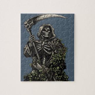 死-大がまを持つ邪悪な骨組死神 ジグソーパズル