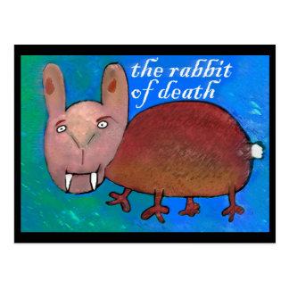死[郵便はがき]のウサギ ポストカード