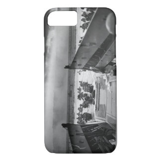 死LCVPの第二次世界大戦オマハの顎に iPhone 8/7ケース