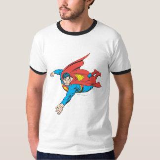 残っているスーパーマンの飛び込み Tシャツ