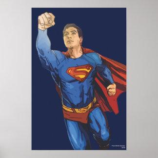 残っているスーパーマンの飛行 ポスター