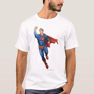 残っているスーパーマンの飛行 Tシャツ