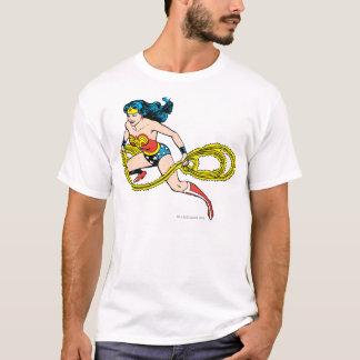 残っているワンダーウーマンの振動投げ縄 Tシャツ