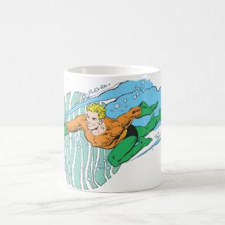 残っているAquamanの跳躍 コーヒーマグカップ