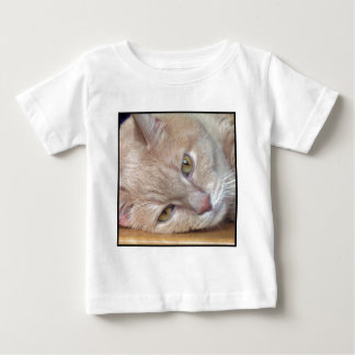 残りのワイシャツの猫 ベビーTシャツ