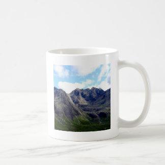 残りの上の空の石 コーヒーマグカップ