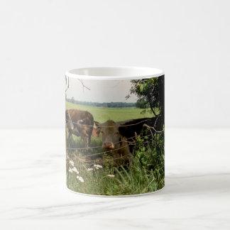 残りの牛 コーヒーマグカップ