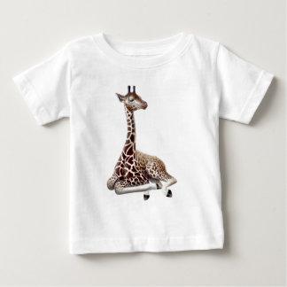 残りの若いキリン ベビーTシャツ