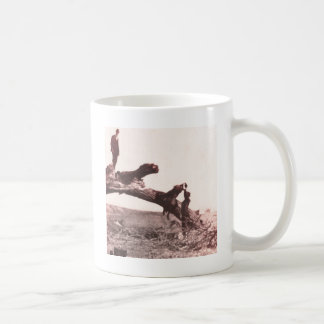 残り停止 コーヒーマグカップ
