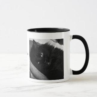 残り猫の俳句のマグの獣 マグカップ
