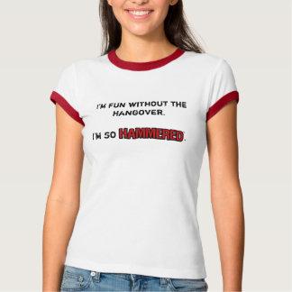 残存物のないおもしろい-女性信号器 Tシャツ
