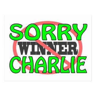 残念なチャーリー-ない勝者 ポストカード