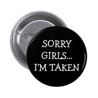 残念な女の子取られるIm 5.7cm 丸型バッジ