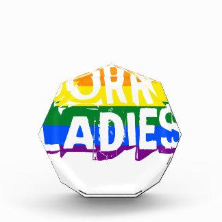 残念な女性LGBTゲイプライド 表彰盾