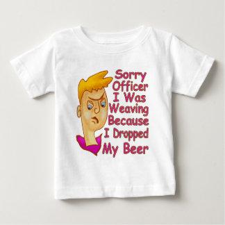 残念な役人 ベビーTシャツ