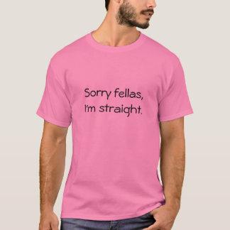 残念な農夫、私はまっすぐです Tシャツ
