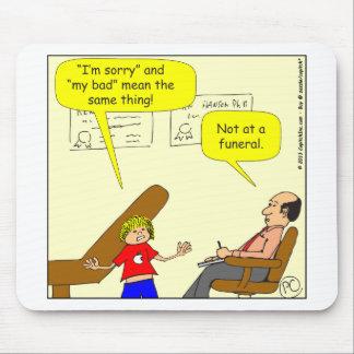 残念な439 Im私の悪い漫画 マウスパッド