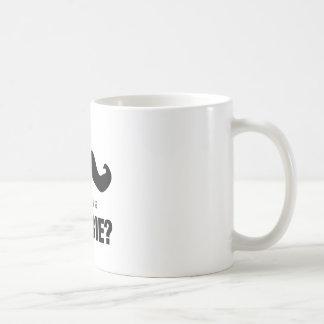 残念なIの髭….ゾンビですか。 コーヒーマグカップ