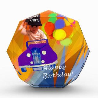 残念私はあなたの誕生日を忘れました 表彰盾
