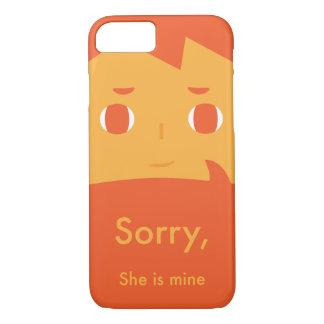 残念、彼女は私の物です iPhone 8/7ケース