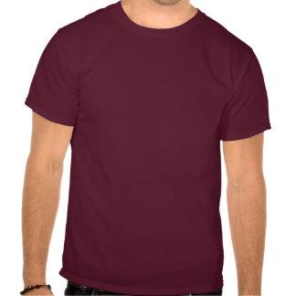 残酷な背部あずき色のワイシャツ