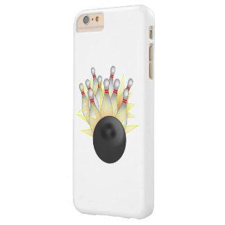 殴打! ボーリング・ボールおよびピン スキニー iPhone 6 PLUS ケース
