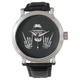 殺し屋のスカルの腕時計 腕時計