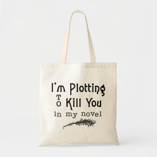殺すおもしろいな作家の執筆計画 トートバッグ