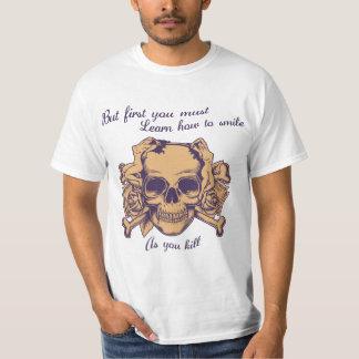 殺すようにスマイル Tシャツ