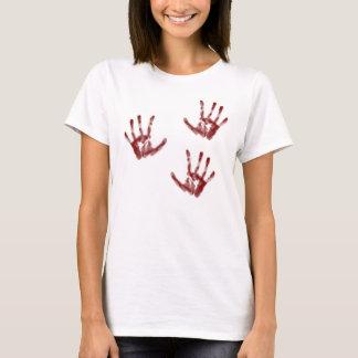 殺人の場面 Tシャツ