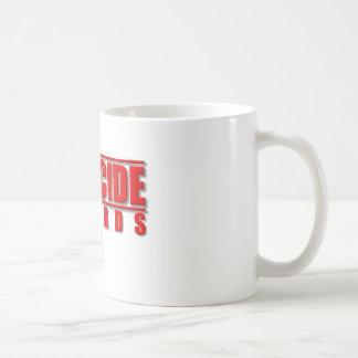 殺人はマグを記録します コーヒーマグカップ