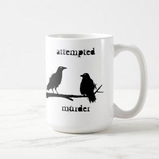 殺人未遂はマグ鳴きます コーヒーマグカップ