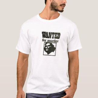 殺害のために望まれるマーガレット・サッチャー- Tシャツ