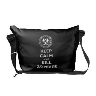 殺害のゾンビ メッセンジャーバッグ
