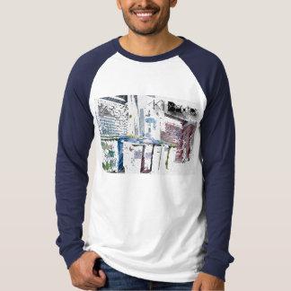 殺害のバックスターの野球のワイシャツ Tシャツ