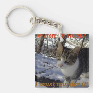 殺害の子猫 キーホルダー