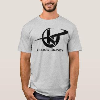 殺害の重力の極度な運動Tシャツ。 Tシャツ