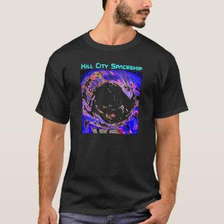 殺害都市宇宙船によるBurkle Tシャツ