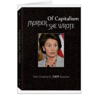 殺害Pelosiは書きました カード