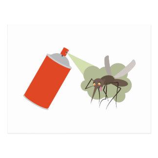 殺虫剤 ポストカード