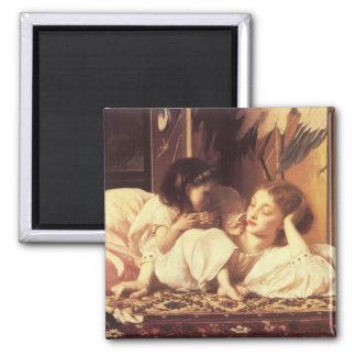 母および児童の主Frederick Leighton マグネット