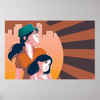 母および娘ポスター ポスター