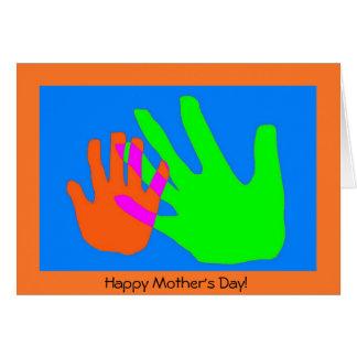 母および子供のつながり カード