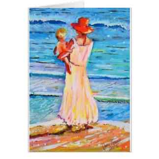 母のビーチCDM カード
