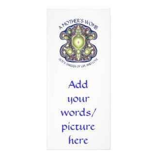 母の子宮: 神の生命および愛の庭 ラックカード